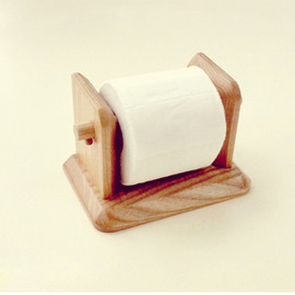 Wood Toilet Paper Holder