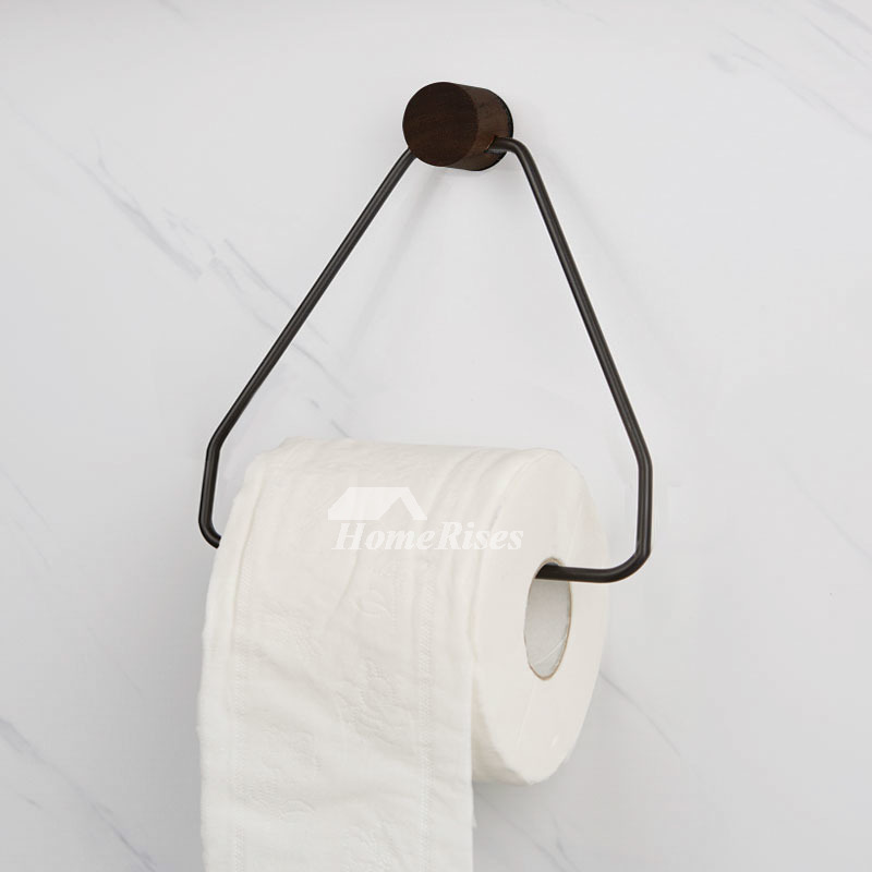Triangle Toilet Paper Holder No Drill/Wall Mount