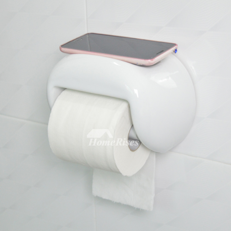 Quality Wall Mount Ceramic Toilet Paper Holder Bathroom