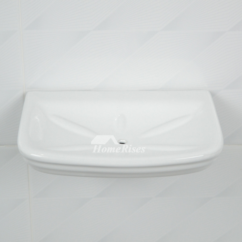 Ceramic Tile Soap Dish Wall Mount White Enamel Bathroom