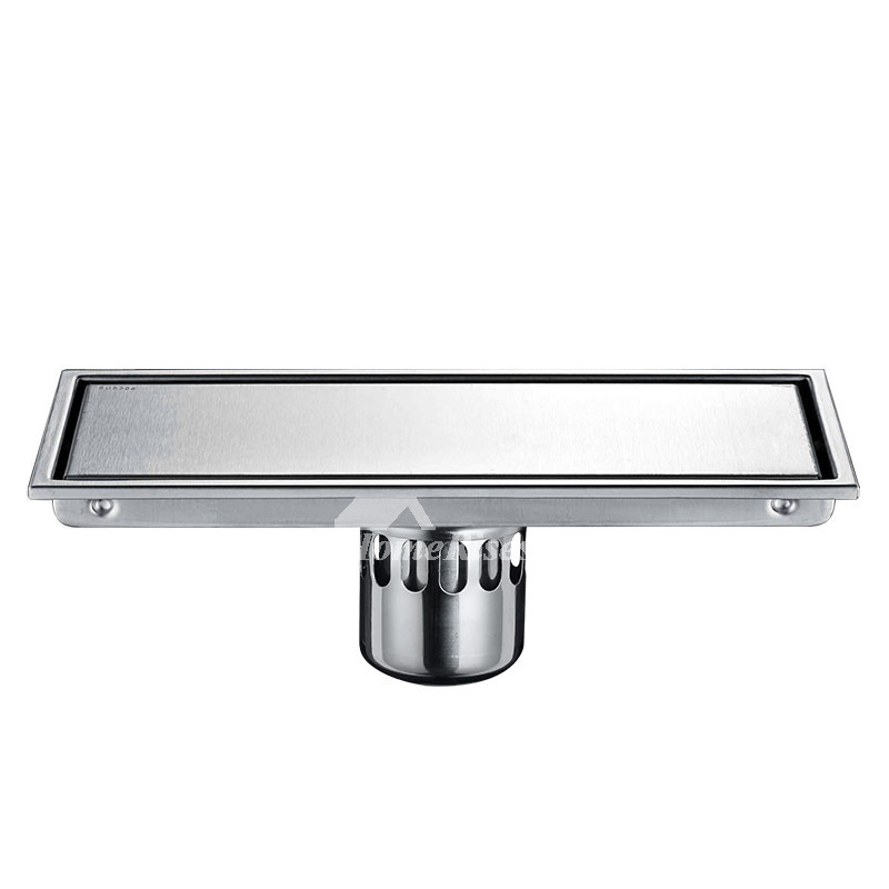 Rectangular Shower Drain Floor Mounted Stainless Steel