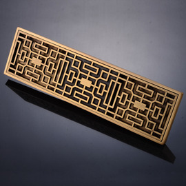 Rectangular Shower Drains Brass