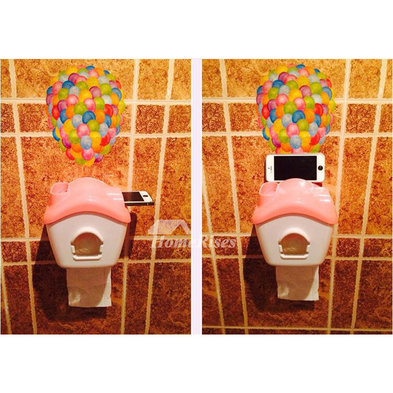 cream plastic toilet seat. No Drill Plastic Toilet Paper Holder House Shaped