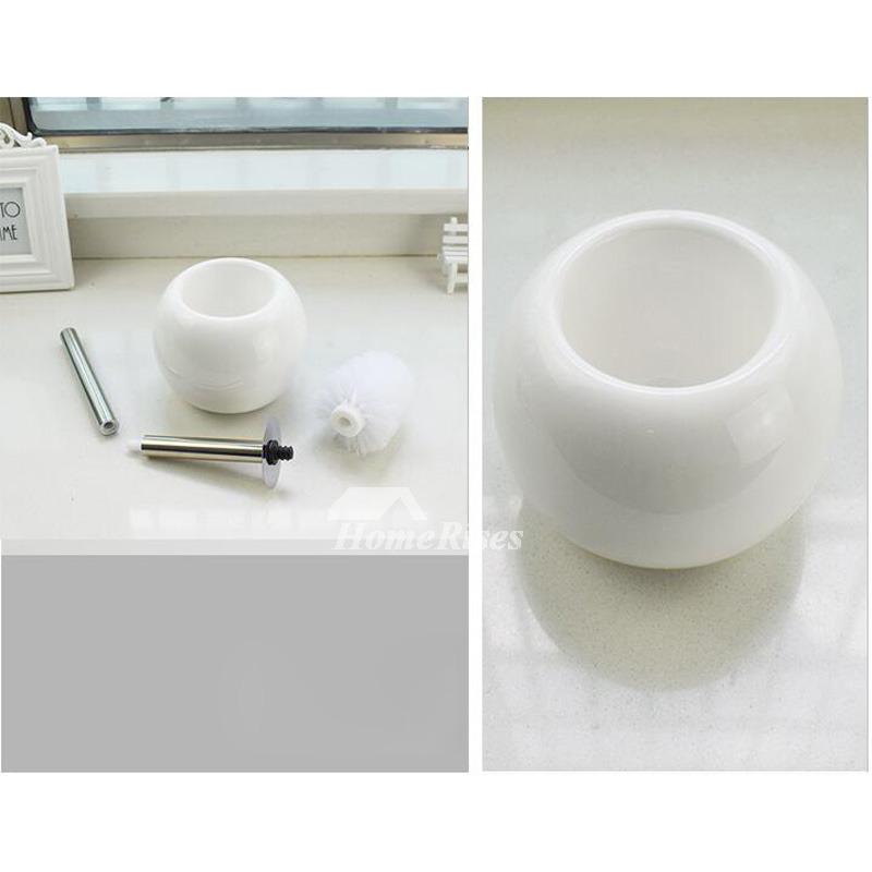 Simple Free Standing Toilet Bowl Cleaner Brush Holder