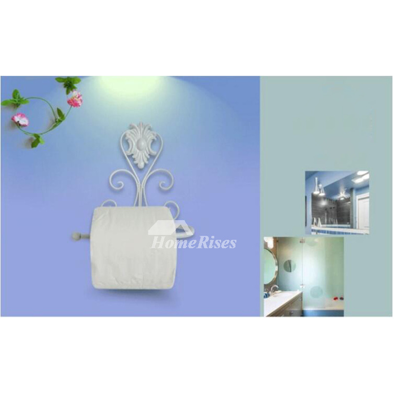 Smooth Wall Mount Painting Iron Toilet Paper Holder