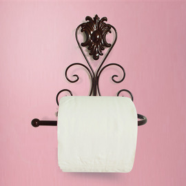 Iron Toilet Paper Holder