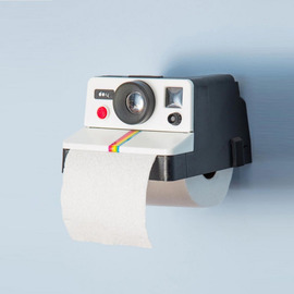 Decorative Bathroom Toilet Paper Holder Wall Mount Camera Shaped