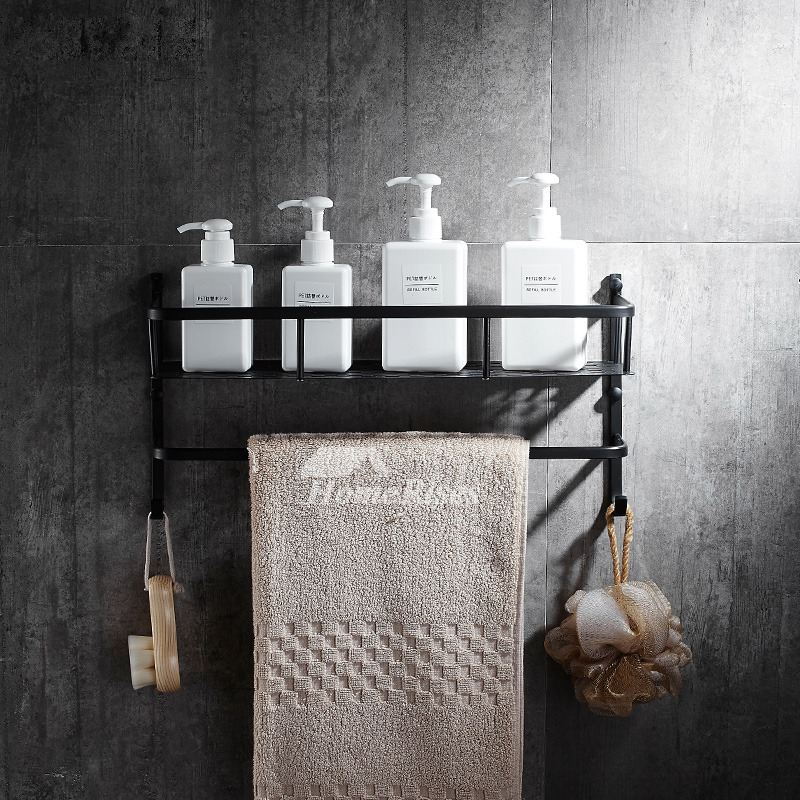 Bathroom Shelves Over Toilet Black Brass Oil-Rubbed Bronze
