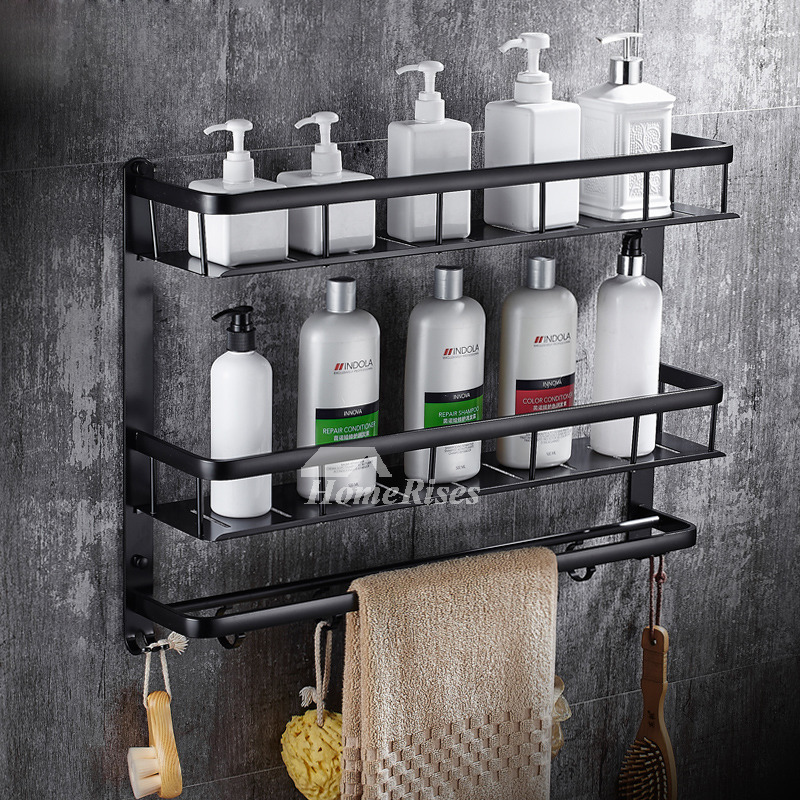 Exquisite Wall Mount Rectangular Shaped Bathroom Towel Shelf