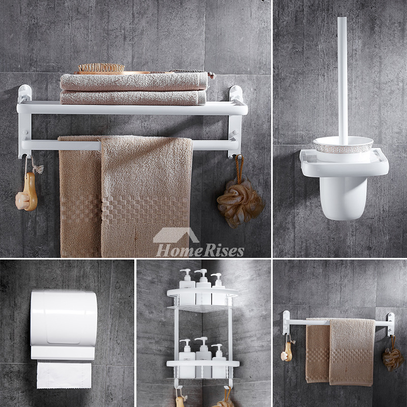 5-Piece Aluminum Painting Cheap Bathroom Accessories Sets
