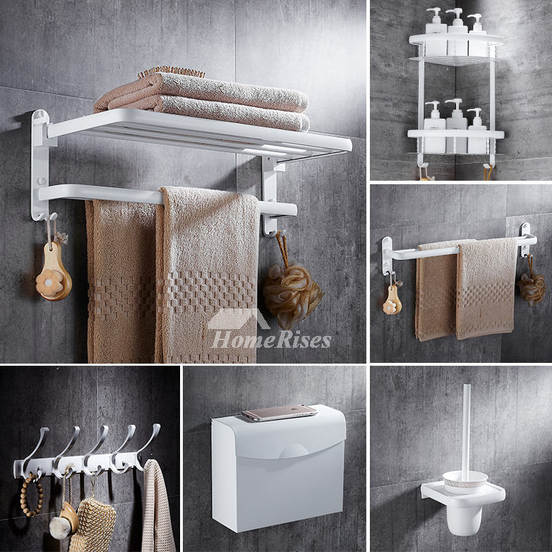 5 piece aluminum painting cheap bathroom accessories sets for Affordable bathroom accessories