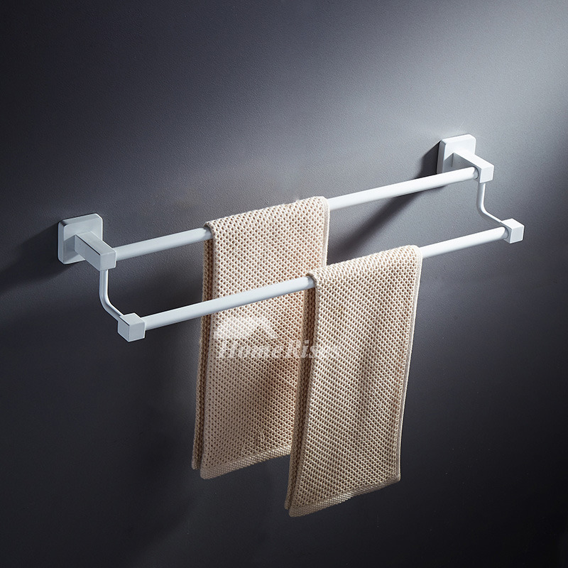 white towel hooks for bathrooms modern wall mount white towel rack bathroom 24688
