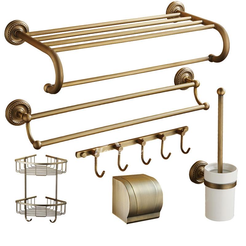 exquisite 6 piecce modern bathroom hardware sets wall - Bathroom Hardware Sets