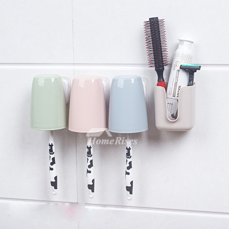 Toothbrush Holder Suction No Drill Abs Plastic