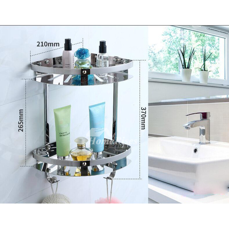 Chrome bathroom accessories set silver stainless steel for Chrome bathroom accessories
