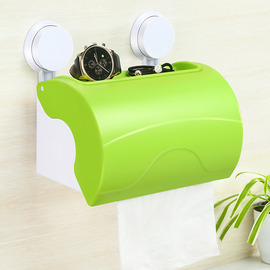 Quality Suction Cup Toilet Paper Holder Bathroom ABS