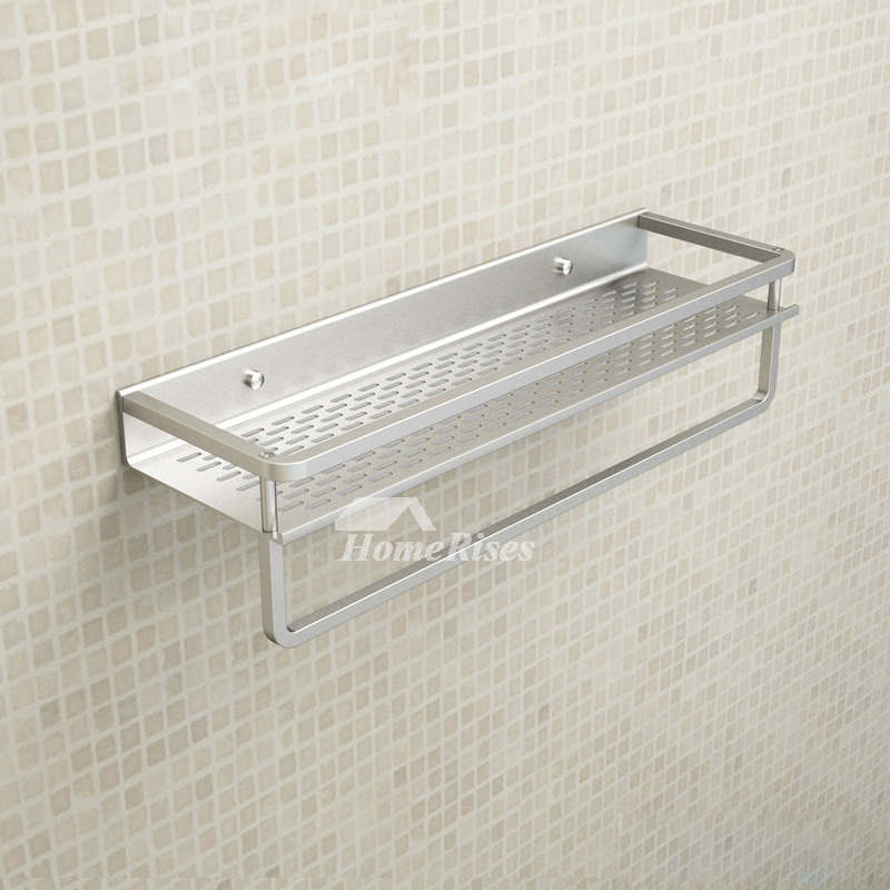 Cheap Aluminum Bathroom Shelves Wall Mounted Painting