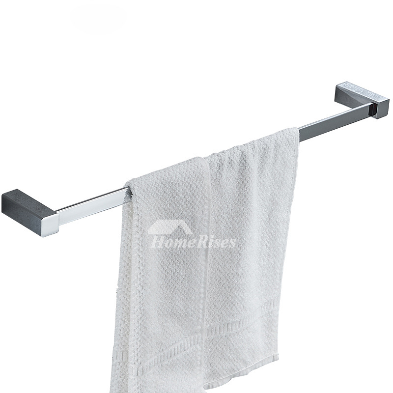 Chrome towel bars oil rubbed bronze wall mount bathroom - Oil rubbed bronze towel bars for bathrooms ...