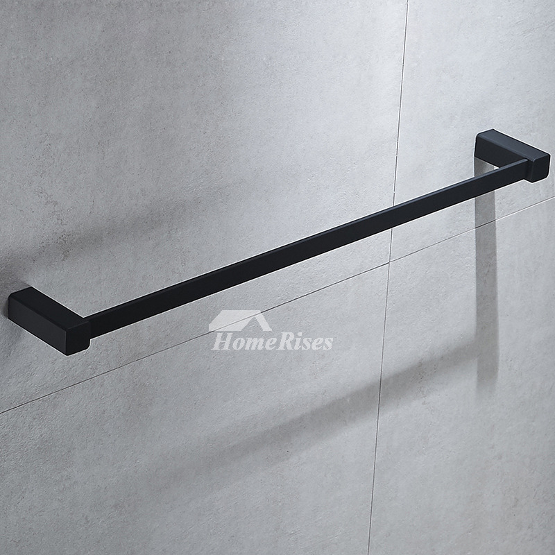 Chrome Towel Bars Oil Rubbed Bronze Wall Mount Bathroom
