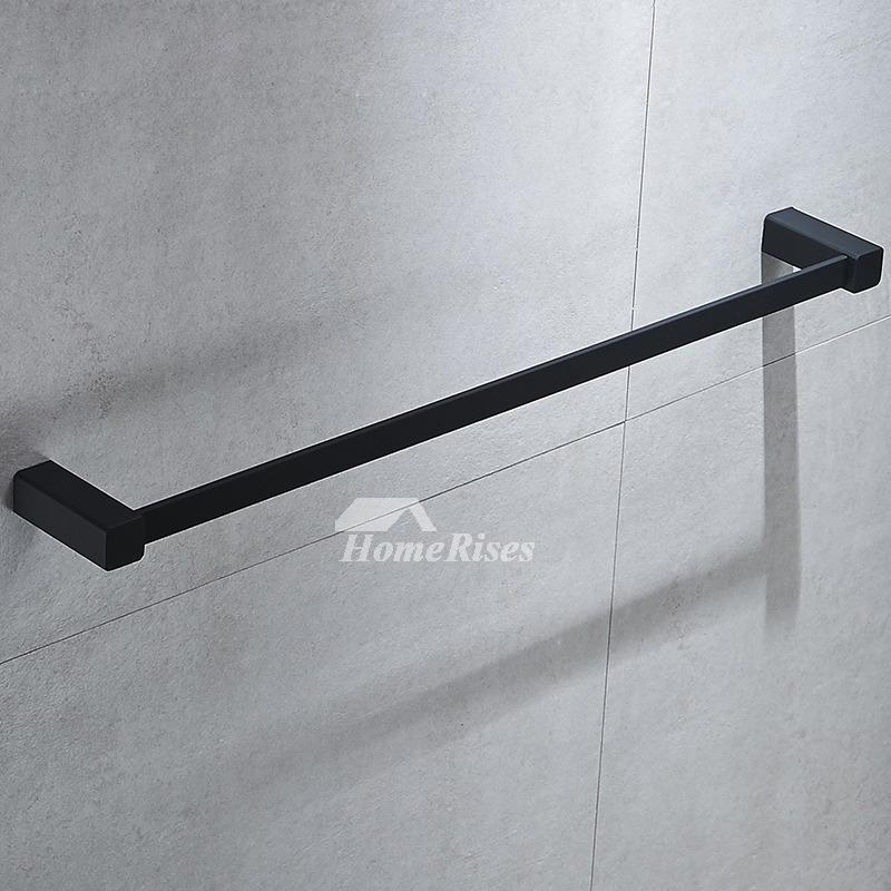 Chrome Towel Bars Oil Rubbed Bronze Wall Mount Bathroom
