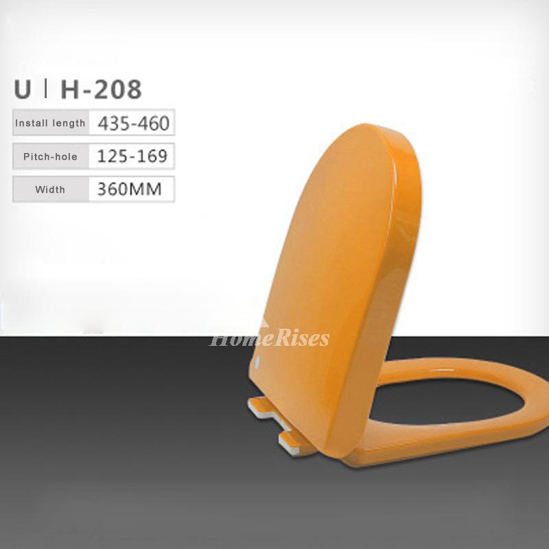 Colored Toilet Seats Cushion Pp U Type Bathroom