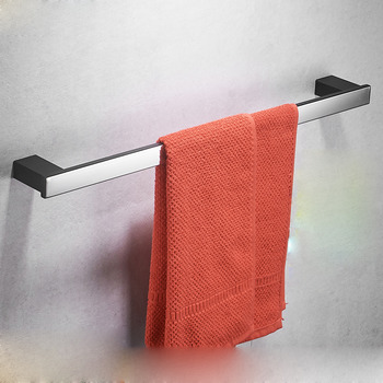 Shower Towel Bar Stainless Steel Wall Mount Bathroom