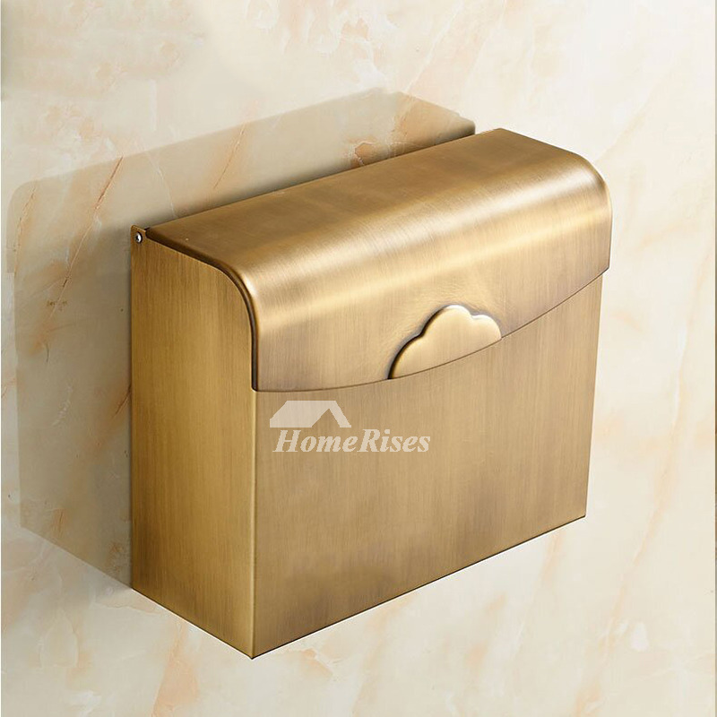 Quality antique brushed brass bathroom accessories set for Quality bathroom decor