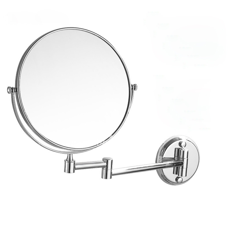 Folding Makeup Mirror Wall Mount Double Sided Magnifying