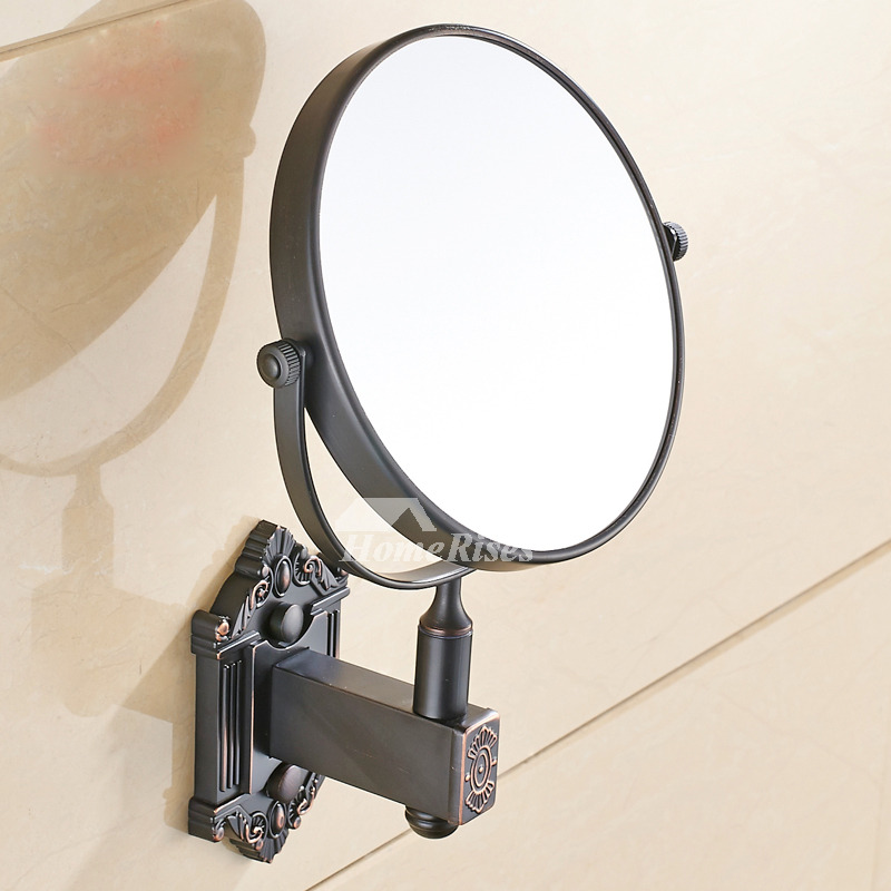 Wall Makeup Mirror Antique Br Oil