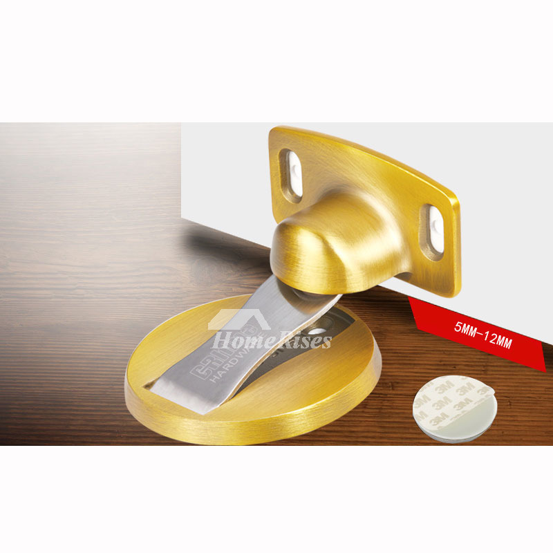 Hidden Door Stop Floor Mounted 304 Stainless Steel Magnetic
