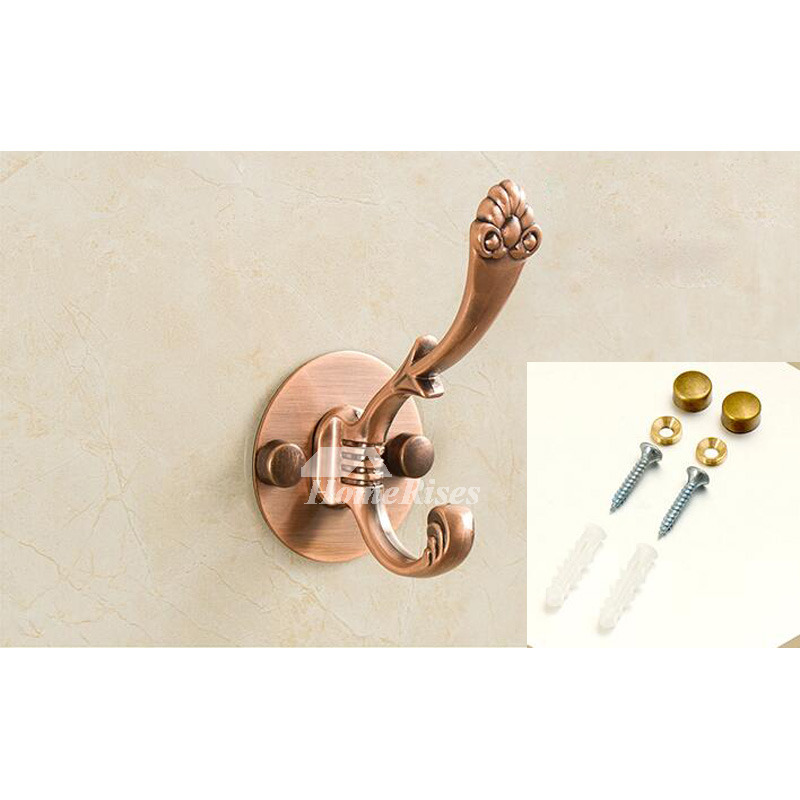 Stainless Steel No Drill Polished Chrome Robe Hooks Bathroom