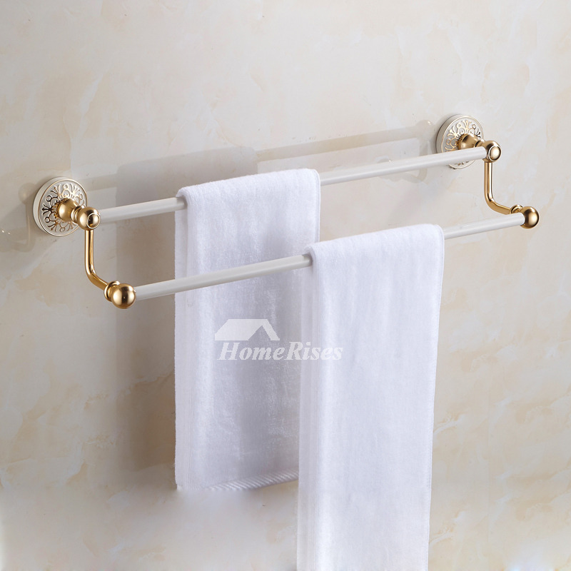 Modern bathroom accessories set aluminum wzhite painting - Modern bathroom accessories sets ...