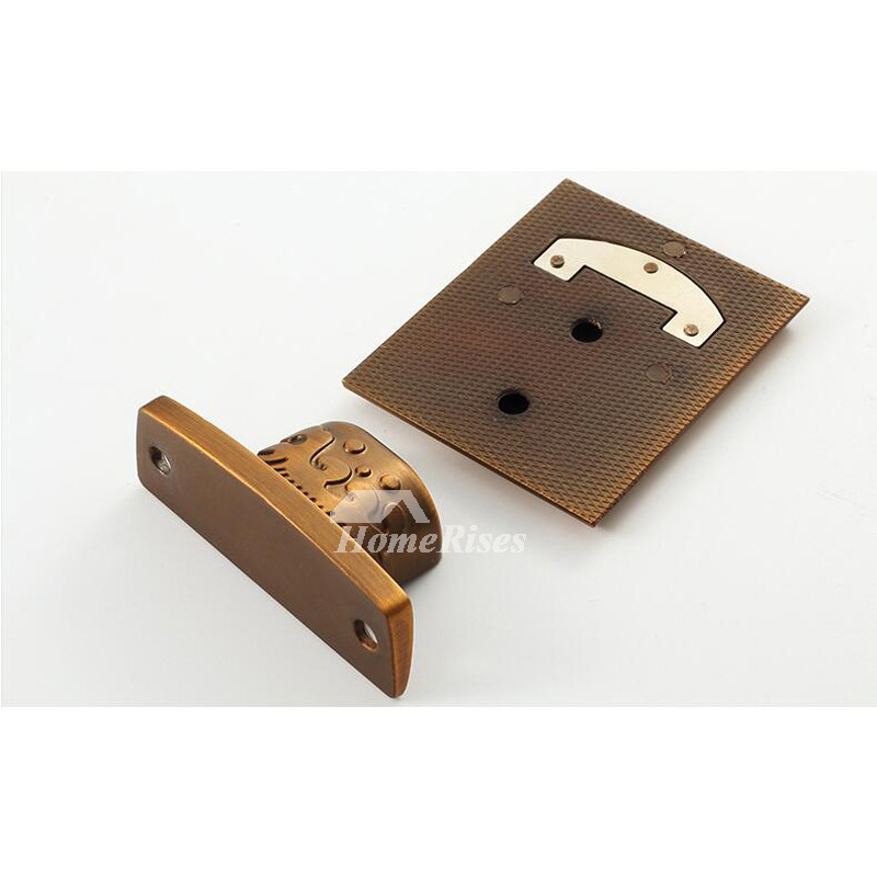 Magnetic Hidden Vintage Door Stops Zinc Alloy No Drill Cheap