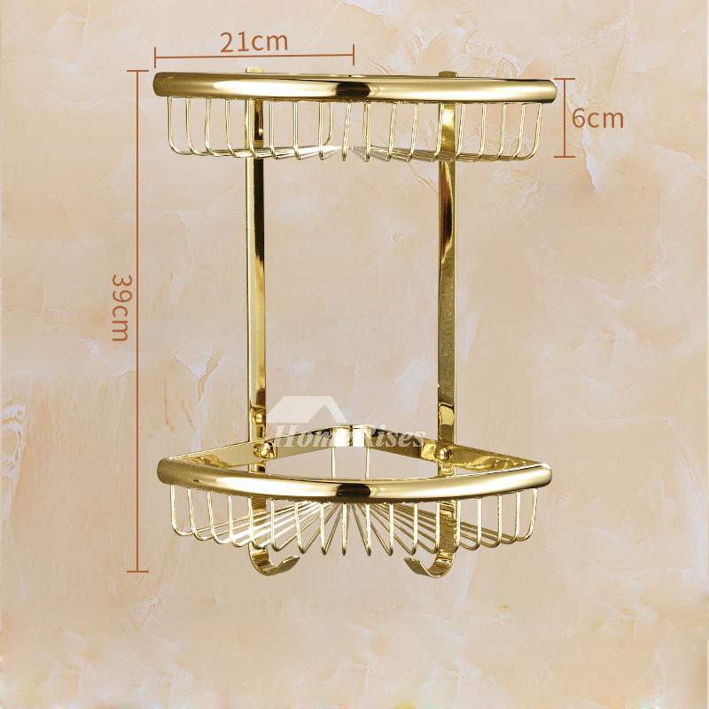 polished brass bathroom accessories set gold carved stainless steel luxury - Bathroom Accessories Luxury