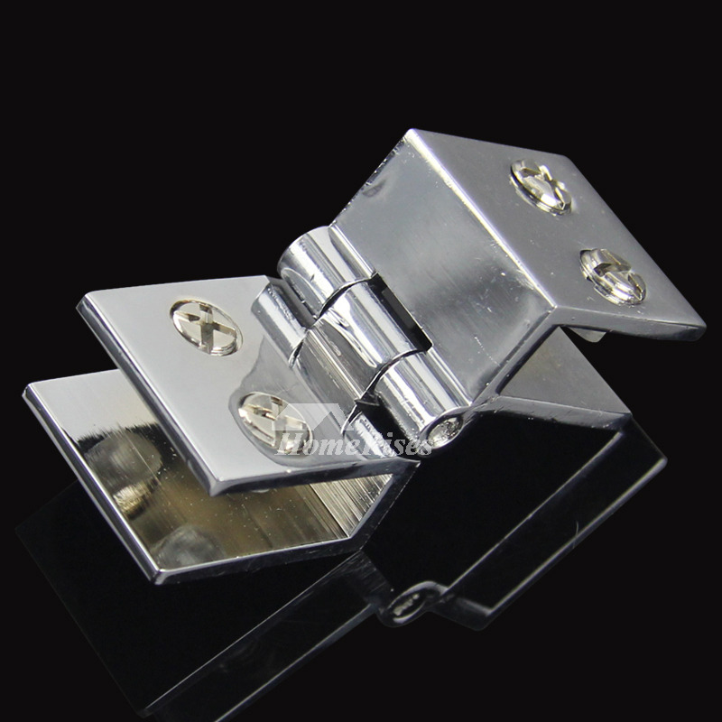 Bathroom Stall Door Hinges Brass Brushed Silver Glass Door ...