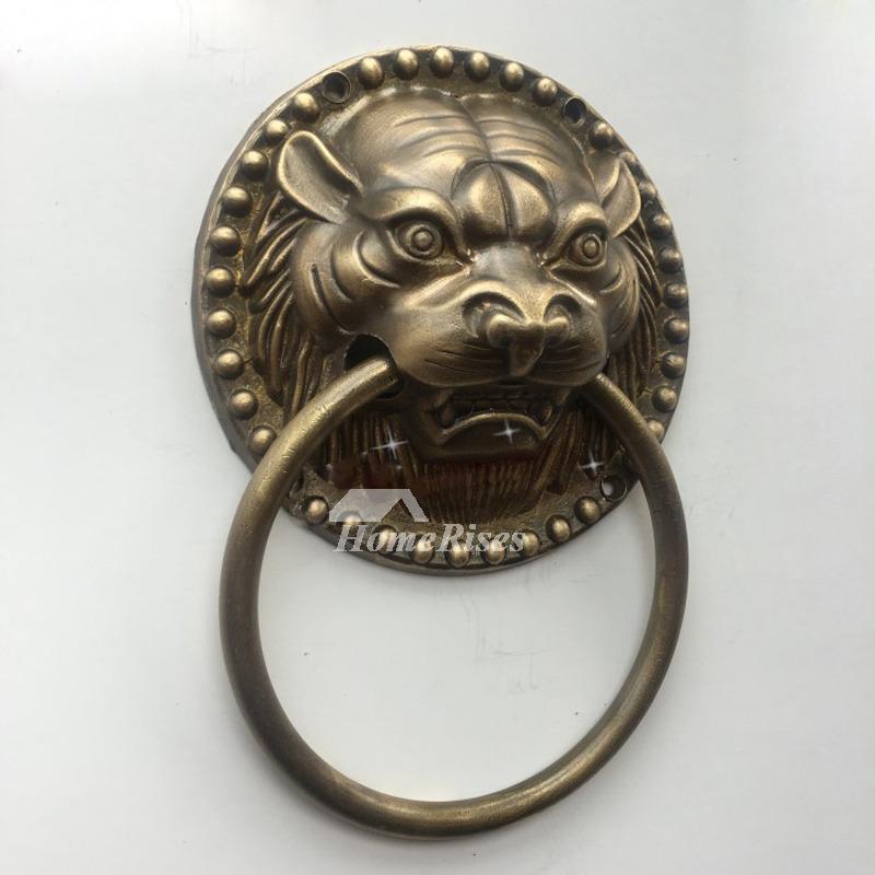 Unique Door Knockers For Sale Carved Brass Lion Shaped