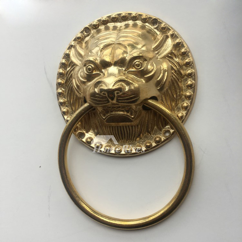 Unique Door Knockers For Sale Carved Brass Lion Shaped
