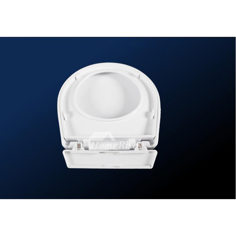 Kids Toilet Seat White Plastic Uponmount Bathroom Commercial