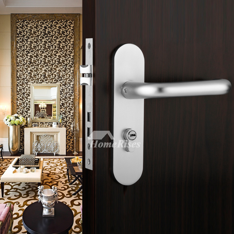Double Lock Cylinder Silver Painting Bedroom Privacy