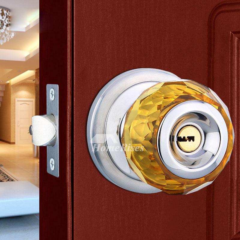 Bedroom Door Lock Crystal Ball Stainless Steel Cheap