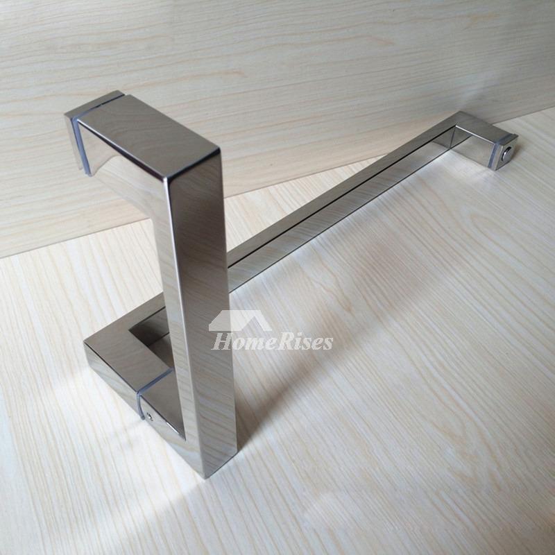 Sliding Door Handles Stainless Steel Silver Chrome Bathroom