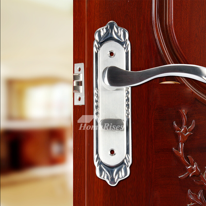 Stainless Steel Silver Door Locks And Handles Without Key
