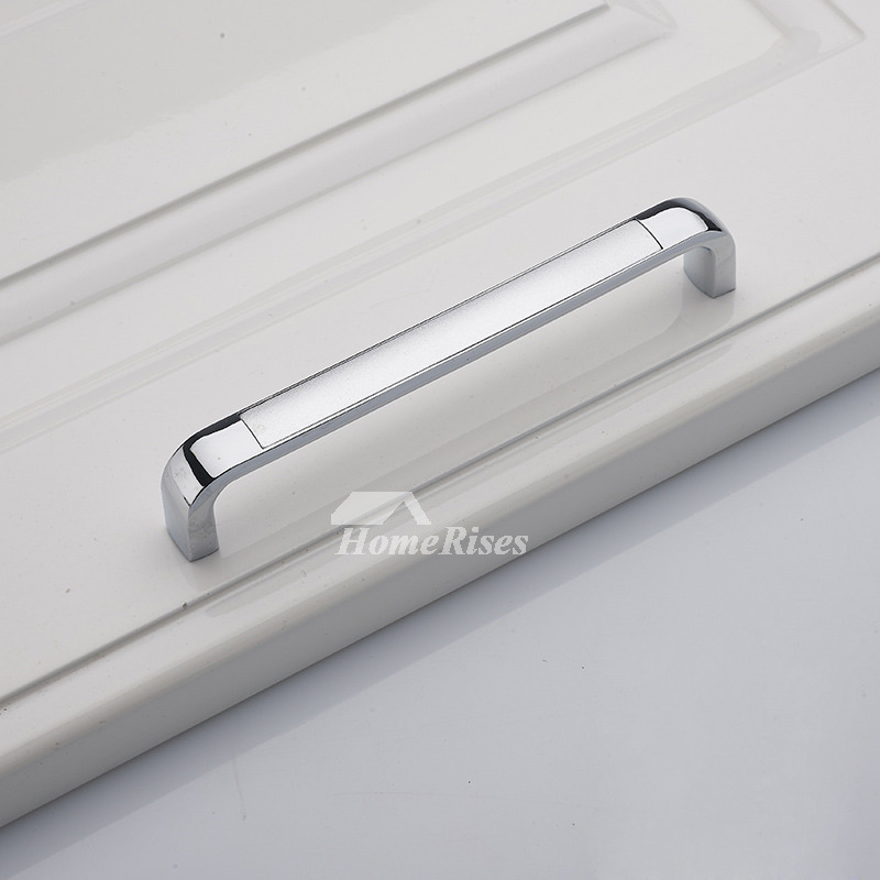 4.5/5.5/7 Inch Chrome Zinc Alloy Affordable Silver Drawer Pulls