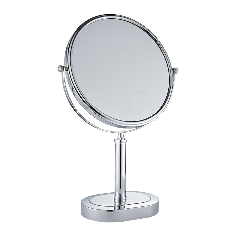 Best Magnifying Makeup Mirror Brass Stainless Steel Silver