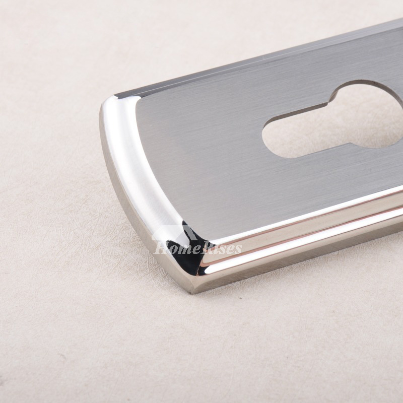 Interior French Door Hardware: French Door Handles Stainless Steel Silver Brushed