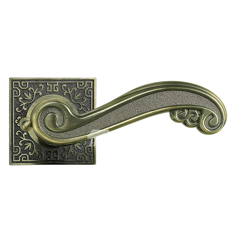 Charmant Pictures Show. Vintage Door Handles Carved Zinc Alloy French ...