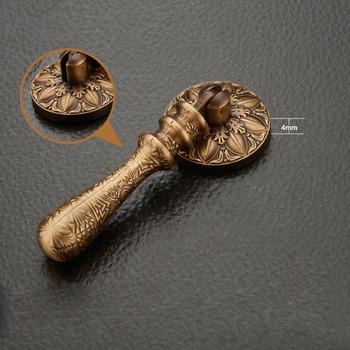 Carved Brass Drawer Pulls
