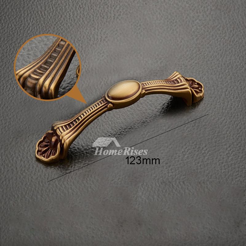 Brass Kitchen Hardware Pulls 3.5/5/6.5 Inch Gold Antique Closet