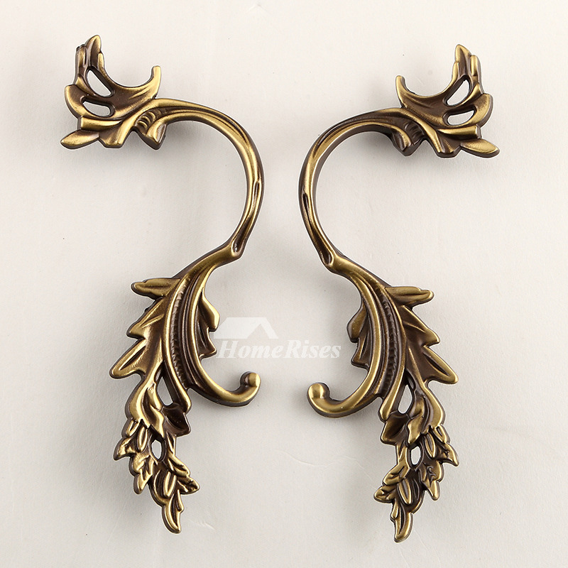 Vintage Drawer Pulls 7 Inch Antique
