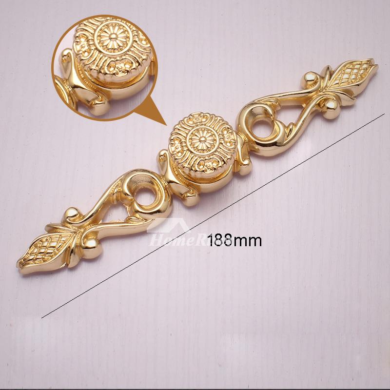7 5 Inch Rose Gold Antique Brass Polished Dresser Drawer